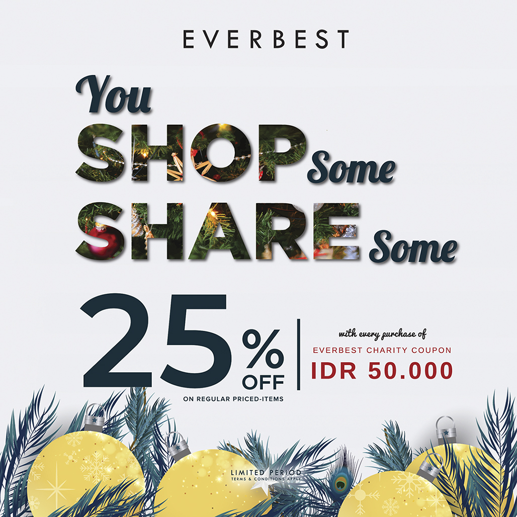 EVERBEST CHARITY Get Disc 25% 9d79bc6554