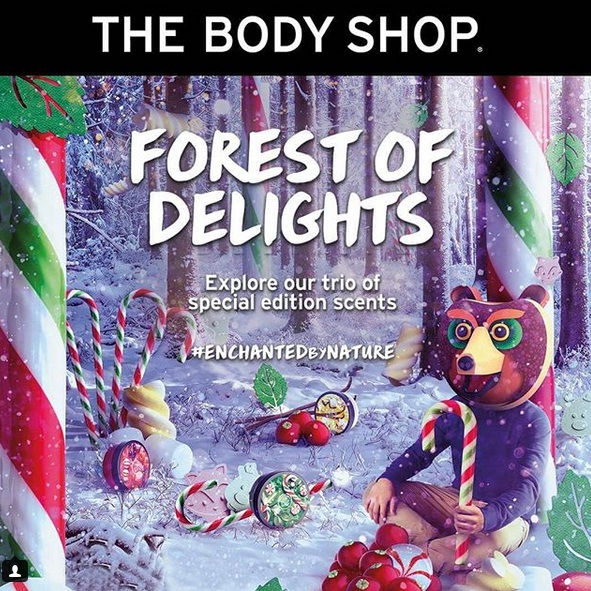 Body Shop Forest of Delight fe7cedc688