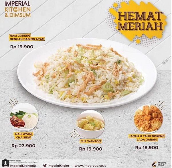 Imperial Kitchen HEMAT MERIAH 985915bf97